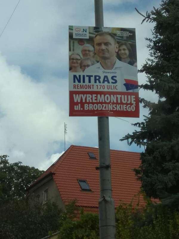 Kandydat Długo Nie Powisiał Nielegalne Plakaty Wyborcze Usuwane